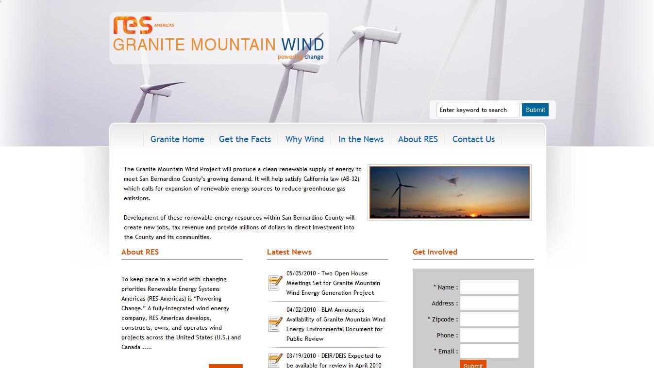 Granite Mountain Wind