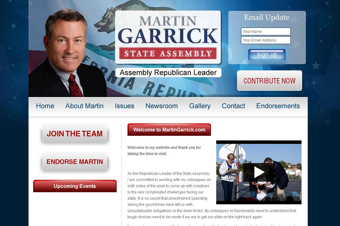Martin Garrick for Assembly